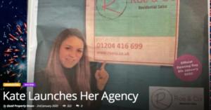 estate agent launch